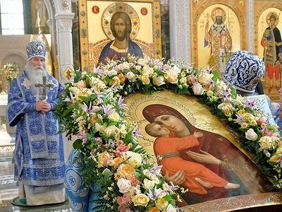 Престольный праздник в Сретенском монастыре