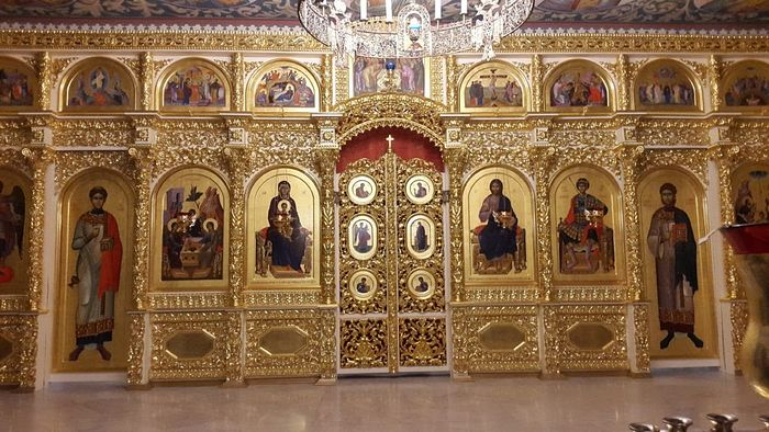 Iconostasis of the Lower Church