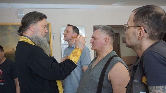 Соборование. Фото из архива прот. Владимира Новицкого