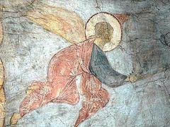 Незрячий ангел старого храма