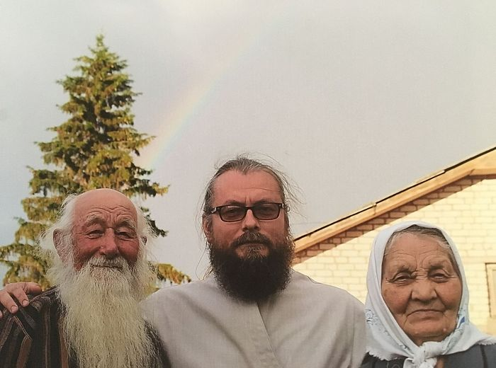Fr. Dimitry with his parents