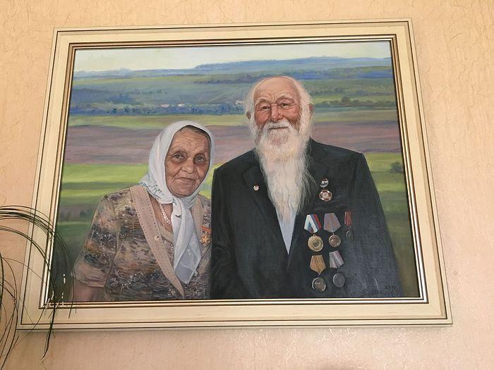 Родители Гавриловы Дмитрий Павлович и Степанида Ивановна