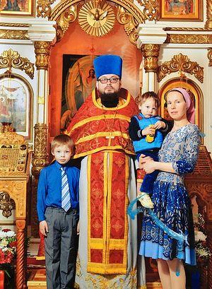Fr. Dimitry Gavrilov's family