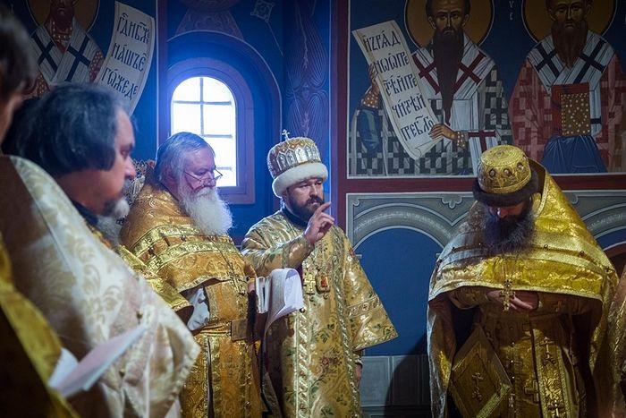 Иоанн Миролюбов с Владыкой Иларионом