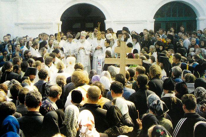 Похороны батюшки Николая