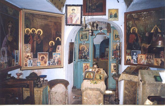 Храм келлии о. Никона, 2003