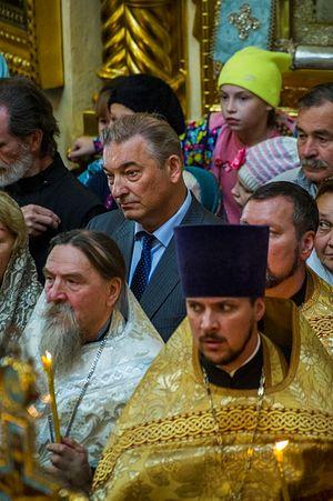 Владислав Александрович Третьяк на отпевании
