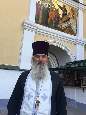 Протоиерей Виталий Гаврилов, настоятель храма Нарвской иконы Божией Матери