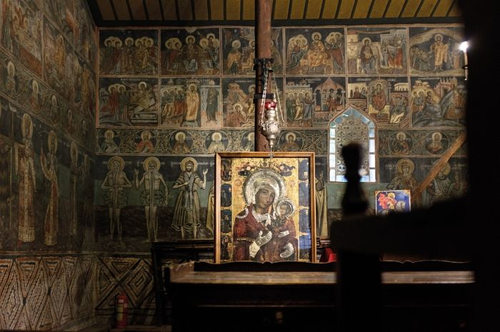 The monastery's wonderworking copy of the Iveron Icon. Photo: vagabond.bg