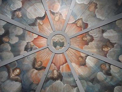 Уникальная роспись из Кенозерского национального парка представлена на выставке в Москве