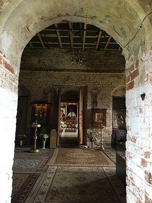 In the Dormition Church of the Sharovkin Monastery