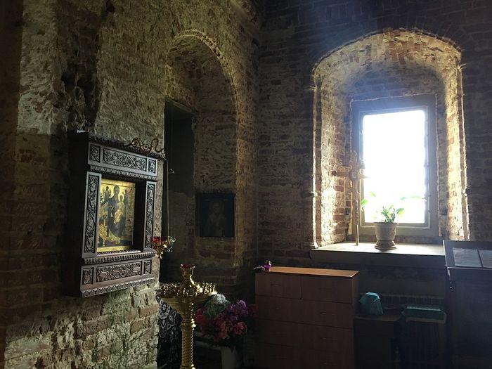 In Sharovkin Monastery's Dormition Church