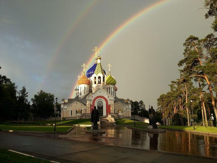 Храм Святаго благоверного Игоря Черниговского в Переделкино