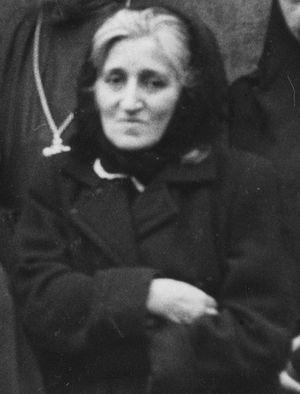 Вера Лаврова в 1957 г.