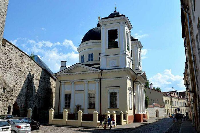 Никольский храм на улице Вене (Русская) в Таллине
