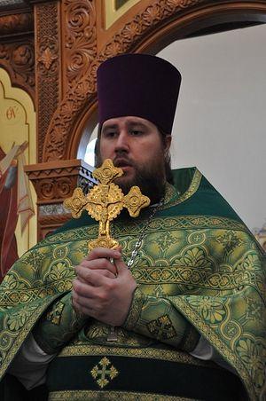 Священник Александр Катков. Фото: Денис Ермашевский