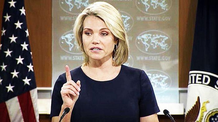 Хизер Нојерт ових дана изјавила да САД Васељенског патријарха Вартоломеја сматрају гласом толерантности и дијалога и да подржавају присталице украјинске аутокефалности, преноси interfax.com.ua.