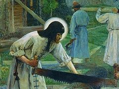 О духовной нищете преподобного Сергия