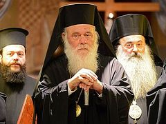 Greek Church concerned about Ukraine issue but declines to discuss it at Synod session