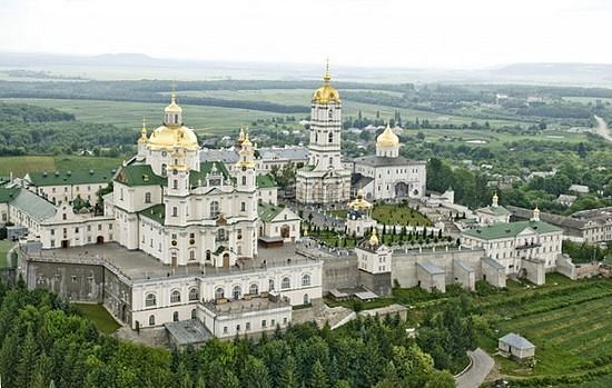 The Pochaev Lavra of the Dormition of the Mother of God, as it looks today.