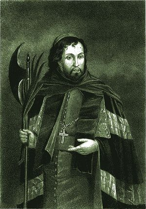 Joasaphat Kuntsevich, depicted as a saint by the Roman Catholics