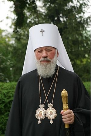 Metropolitan Vladimir (Sabodan), head of the Ukrainian Orthodox Church (Moscow Patriarchate) from 1992 to 2014