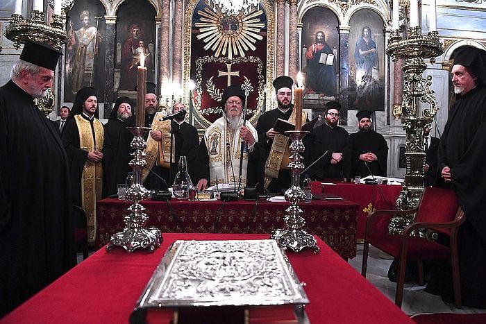 Синаксис иерархии Вселенского престола 1–3 сентября 2018 г.