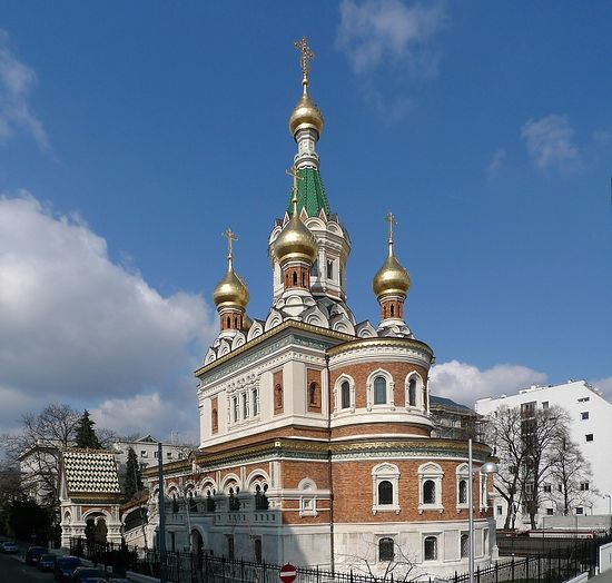 St. Nicholas Cathedral in Vienna