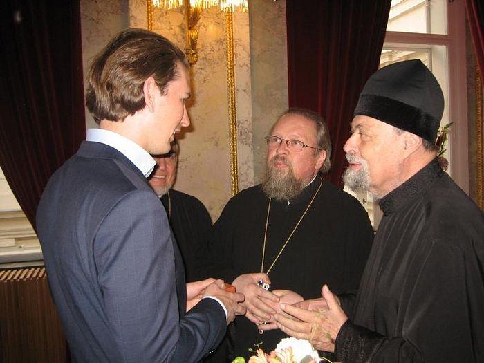 Беседа с федеральным канцлером Австрии Себастьяном Курцем