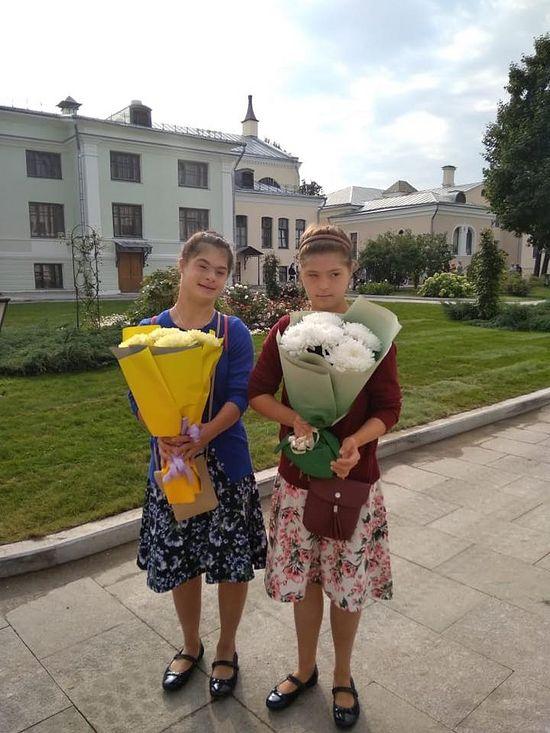 Подопечные Таня и Ульяна