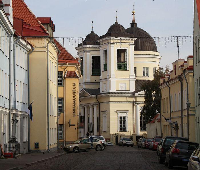 Никольская церковь. Таллин