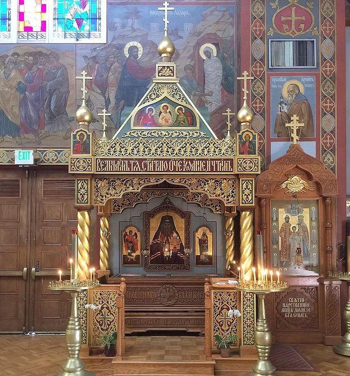 Мошти светитеља Јована (Максимовича)