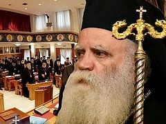 Greek metropolitan calls for extraordinary session of Holy Synod to address Ukrainian crisis