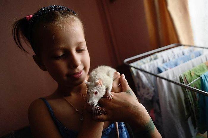Дочка Светы Полина любит мороженое и кататься на роликах. И пока не понимает, что стала старшей в семье. Фото: Кристина Кормилицына, Коммерсантъ