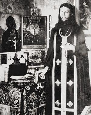 Отец Спиридон (Лукич) в молодости