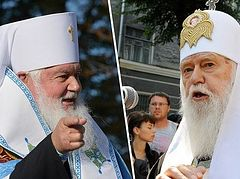 Ukrainian schismatic leaders disagreeing over how to unite