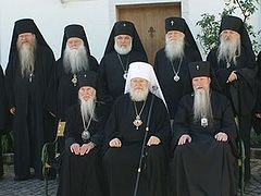 Statement of the Holy Synod of Bishops of the Russian Orthodox Church Outside of Russia