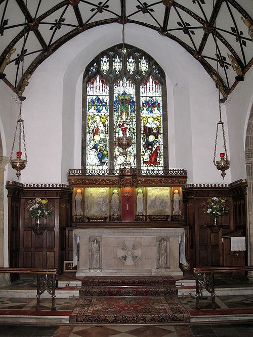 Chancel of the Church of Sts. Ia, Peter and Andrew in St. Ives, Cornwall