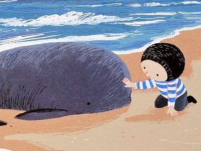 Про Ника, который встретил кита