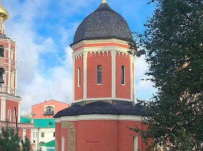 Завершается реставрация главного собора Высоко-Петровского монастыря