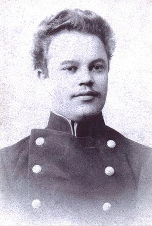 Дмитрий Иванович Орехов, выпускник Рязанской духовной семинарии. Рязань, 1904 г.