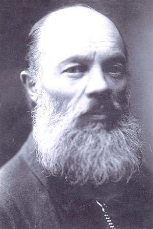 Священник Димитрий Орехов незадолго до ареста. 1937 г., Рязань