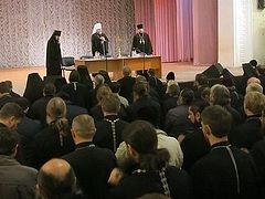 Poltava Diocese unanimously supports canonical status of Ukrainian Church and Met. Onuphry