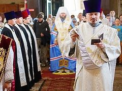 Dioceses of Sumy Province express support for Ukrainian Church's canonical status and primate