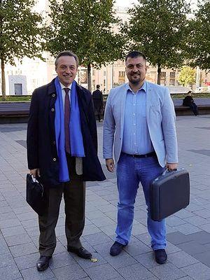 Борис Костенко и Бошко Козарски
