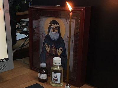 Масло от святого Гавриила