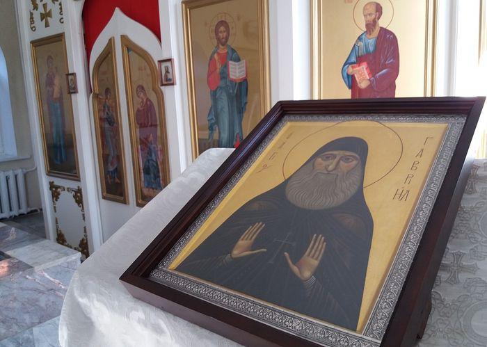 Вторая икона преподобного Гавриила (Ургебадзе).
