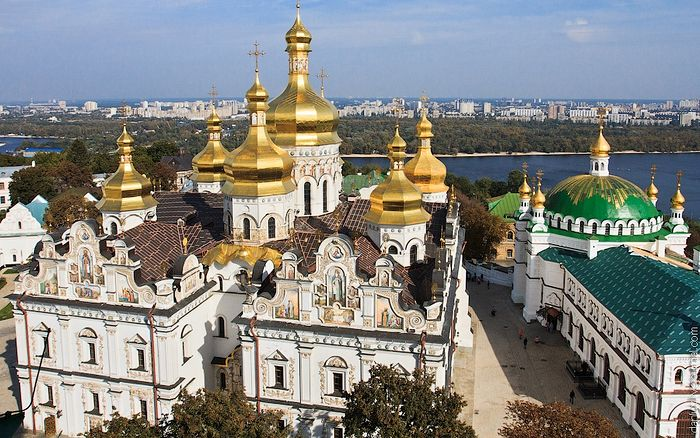The Kiev Caves Lavra after its restoration