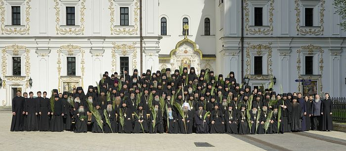 The brethren of the Kiev Caves Lavra today