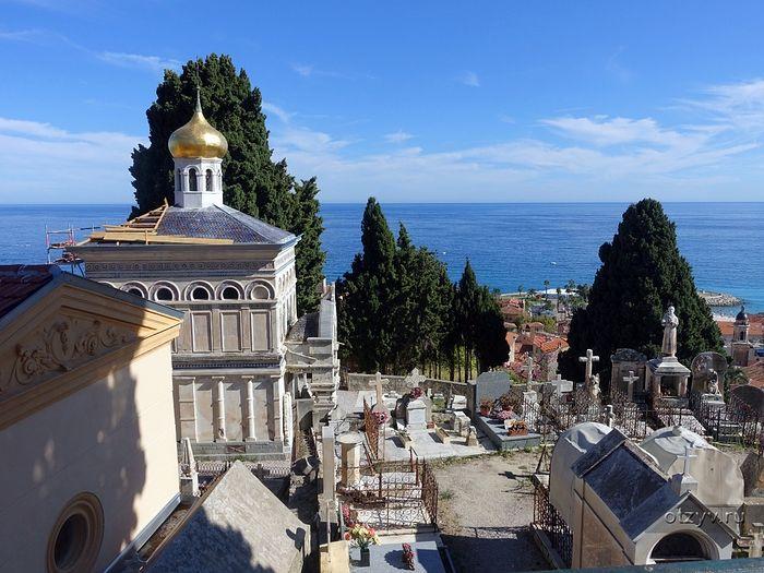 Русское кладбище в Ментоне